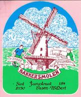 Sticker - Bakkersmolen ESSEN - WILDERT  - Sint Jansstraat - Autocollants
