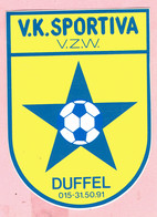 Sticker - V.K. SPORTIVA - DUFFEL - Autocollants