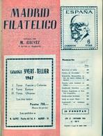 1966 . MADRID FILATÉLICO , AÑO LX , Nº 700 / 11 , EDITADA POR M. GALVEZ - Revistas
