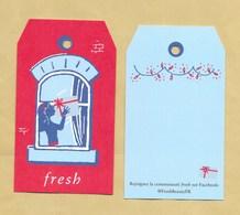 Carte Promo Perfume Card FRESH * NOEL XMAS 2019 * R/V - Modern (from 1961)