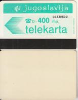 YUGOSLAVIA(Autelca) - Telecom Logo 400 Units(muflon Radece), CN : 8 Digits, Tirage 1000, Used - Jugoslawien