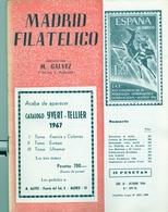 1966 . MADRID FILATÉLICO , AÑO LX , Nº 699 / 10 , EDITADA POR M. GALVEZ - Revistas