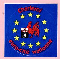 Sticker - Charleroi - Euro-Cité Wallonne - Autocollants