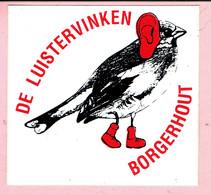 Sticker - DE LUISTERVINKEN - Borgerhout - Autocollants