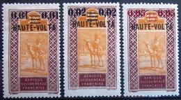 HAUTE-VOLTA                         N° 18/20                          NEUF* - Unused Stamps