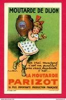 CPA RARE (Réf : B 827) Illustrateur POULBOT MOUTARDE DE DIJON (21 CÔTE D'OR) LA MOUTARDE PARIZOT - Dijon