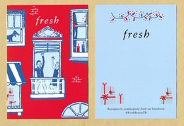 Carte Promo FRESH * NOEL XMAS 2019 * R/V - Modern (from 1961)