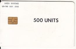 SERBIA - Intracom Test Card 500 Units, Tirage 1000, 09/98, Used - Jugoslawien
