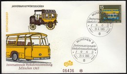 Germany Munich 1965 / International Transport Exhibition / Bus - Busses