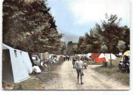 Lac D'Aiguebelette. Camping.  CPSM Edit Cim. Postée 196? - Francia