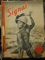 MilDoc. 55.  Revue De Propagande Allemande SIGNAL N°2 - De Janvier  1942. Croire Obéir Combattre - 1939-45