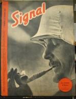 MilDoc. 56.  Revue De Propagande Allemande SIGNAL 1er Numéro De Février 1942. N°3. Le Casque D'hiver - 1939-45