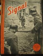 MilDoc. 57.  Revue De Propagande Allemande SIGNAL 1er Numéro De Mars 1942. N°5. En Crimée Un Bataillon .... - 1939-45