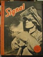 MilDoc. 58.  Revue De Propagande Allemande SIGNAL 1er Numéro D'avril 1942. N°7. L'homme Des Haut-fourneaux. - 1939-45