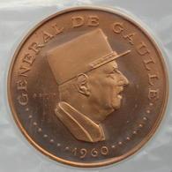 Tchad - 10000 Francs 1960, ESSAI - Visite Du Général De Gaulle - Tsjaad