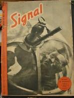 MilDoc. 60.  Revue De Propagande Allemande SIGNAL 1 ème  Numéro De Mai 1942. N°9.Avant Le Départ .......... - 1939-45