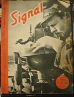 MilDoc. 61.  Revue De Propagande Allemande SIGNAL 2 ème  Numéro De Mai 1942. N°10.Le Chef Timonier Au Compas... - 1939-45