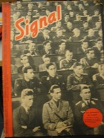 MilDoc. 62.  Revue De Propagande Allemande SIGNAL 1er  Numéro De Juin 1942. N°11.Les Pionniers De L'esprit - 1939-45