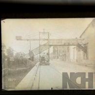 Négatif  Photo Sur Plaque De Verre - Usine Industrie - N° HT29 Péniche - Glasplaten