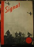 MilDoc. 63.  Revue De Propagande Allemande SIGNAL 1er  Numéro De Août 1942. N°15.Assaut à L'Est - 1939-45