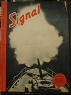 MilDoc. 64.  Revue De Propagande Allemande SIGNAL 2 ème  Numéro De D'octobre 1942. N°20. Un Obus Traceur Donne Le Signal - 1939-45