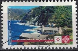 France 2019 Oblitéré Used Patrimoine Couvent Saint François De Pino Corse Stéphane Bern - Gebruikt