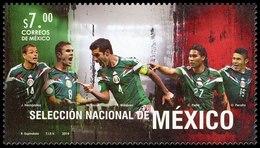 2014 México FÚTBOL,  Mexican National  Football Soccer  BRAZIL 2014   WORLD SOCCER CUP MNH - World Cup