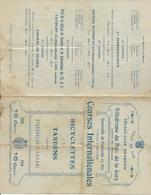 D  64  PAU  PROGRAMME Du VELO CLUB BEARNAIS  Courses De Bicyclettes Availle De Pau 11 Mai 1913 - Boeken, Tijdschriften, Stripverhalen