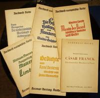Zes Boekjes Ahnenerbe (SS) WO-II - Livres