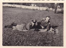 PHOTO ORIGINALE 39 / 45 WW2 WEHRMACHT FRANCE LORRAINE SEPTEMBRE 1940 OFFICIERS ALLEMANDS - Guerre, Militaire
