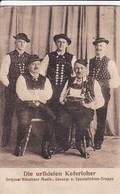 AK Die Urfidelen Keferloher - München - Ca. 1910 (45416) - Muziek En Musicus