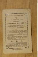 1983 Doodsprentje Lede Aalst Anastasia De Gend - Religión & Esoterismo