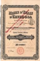 Titre Ancien - Mines D'Etain D'Ervedosa - Société Anonyme  - Titre De 1909 - Mijnen