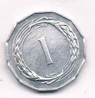1 CENT 1963  CYPRUS /9136// - Chypre