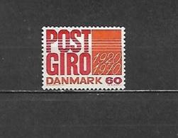 1970 - NN. 499**- 500**-501**-502**-503**-504**-505**-506**-513**   (CATALOGO UNIFICATO) - Danimarca