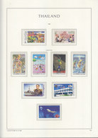 Sheets Leuchtturm For Thailand 1998. Attention!!! Sheets Sold Without Stamps. - Thailand