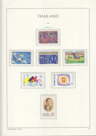 Sheets Leuchtturm For Thailand 1999. Attention!!! Sheets Sold Without Stamps. - Thailand