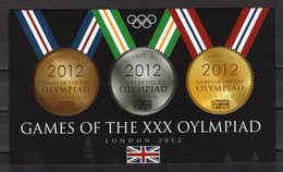 TUVALU - 2012 LONDON SUMMER OLYMPIC GAMES  M1728 - Eté 2012: Londres