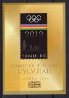 TUVALU - 2012 LONDON SUMMER OLYMPIC GAMES  M1729 - Eté 2012: Londres
