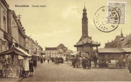 Herenthals Herentals Groote Markt Marché Animé - Herentals