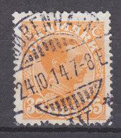 Denmark 1913 Mi. 72   35 Øre Chr. X. DELUXE Brotype Ia KJØBENHAVN (IV) SCARCE Cancel !! - 1913-47 (Christian X)