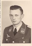 PHOTO ORIGINALE 39 / 45 WW2 WEHRMACHT ALLEMAGNE PORTRAIT D UN OFFICIER ALLEMAND - Guerra, Militares