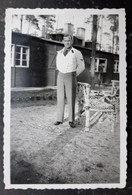 WWII 1943 Hitler's Personal Staff Waiter LAH SS Dress Jacket Pose Photo - Guerra 1939-45