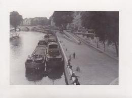PHOTO ORIGINALE 39 / 45 WW2 WEHRMACHT FRANCE PARIS LA SEINE - Guerre, Militaire