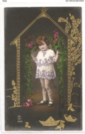 FAN 032  OLD POSTCARD , FEMALE FANTASY , ANGELS , ELFQUEST ,GNOMES - Femmes