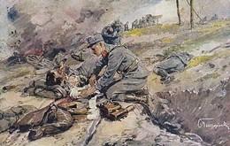 AK Batterie-Offizier Und Chirurg Zugleich - österr. Soldat - Krasnik - Arnulf Morer - Rotes Kreuz - 1918 (45423) - Weltkrieg 1914-18
