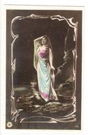 FAN 038  OLD POSTCARD , FEMALE FANTASY , ANGELS , ELFQUEST ,GNOMES - Femmes