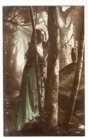 FAN 039  OLD POSTCARD , FEMALE FANTASY , ANGELS , ELFQUEST ,GNOMES - Femmes