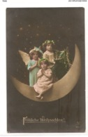 FAN 043  OLD POSTCARD , FEMALE FANTASY , ANGELS , ELFQUEST ,GNOMES - Femmes
