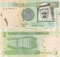 Saudi Arabia - 1 Riyal 2012 UNC Lemberg-Zp - Arabie Saoudite